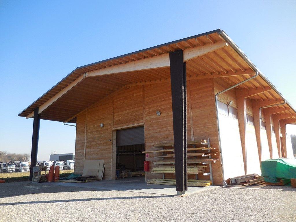 Construction Hangar Bois Prix construction bois d'un hangar au sud de lyon (rhône